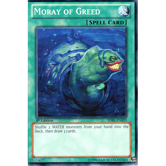 Moray of Greed - SDRE-EN029 - Common