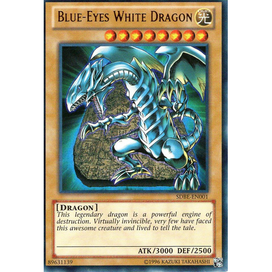 Blue-Eyes White Dragon - SDBE-EN001 - Ultra Rare