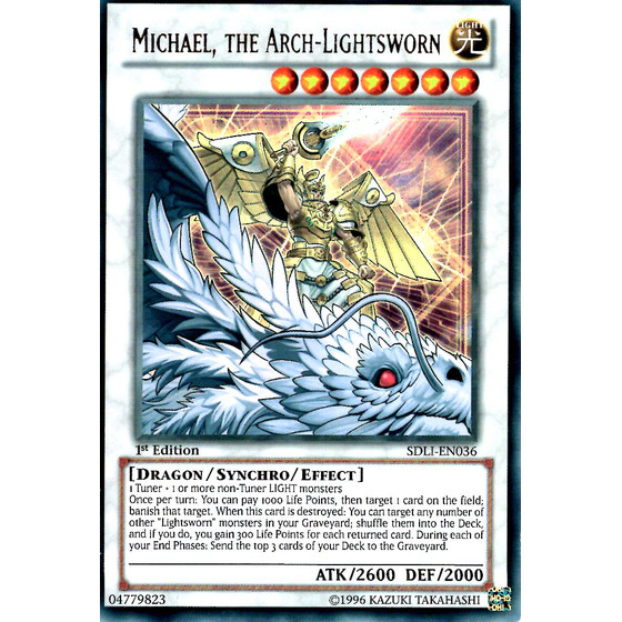 Michael, the Arch-Lightsworn - SDLI-EN036 - Ultra Rare