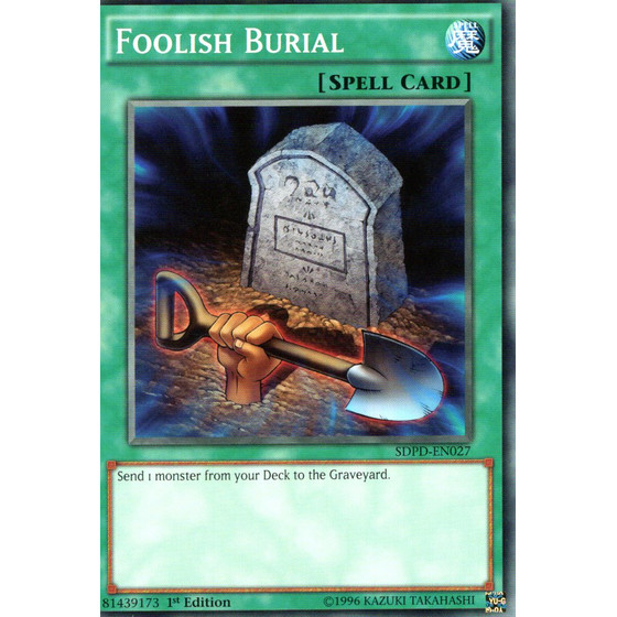 Foolish Burial - SDPD-EN027 - Common