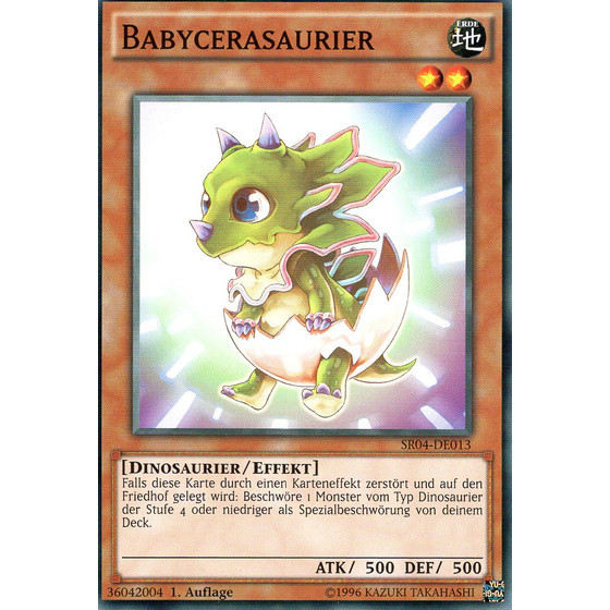 Babycerasaurier - SR04-DE013 - Common