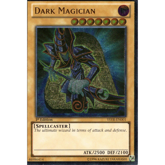 Dark Magician - YSYR-EN001 - Ultimate Rare