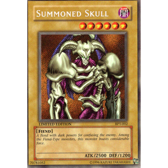 Summoned Skull - BPT-002 - Secret Rare