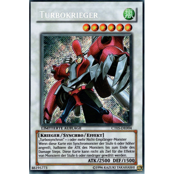 Turbokrieger - CT05-DE004 - Secret Rare
