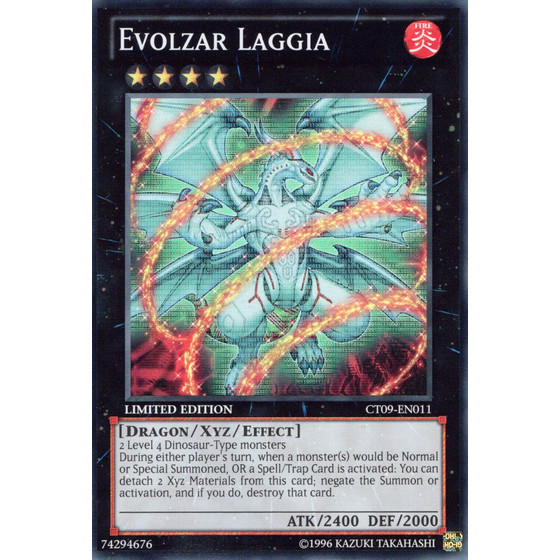 Evolzar Laggia - CT09-EN011 - Super Rare