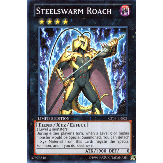 Steelswarm Roach - CT09-EN021 - Super Rare