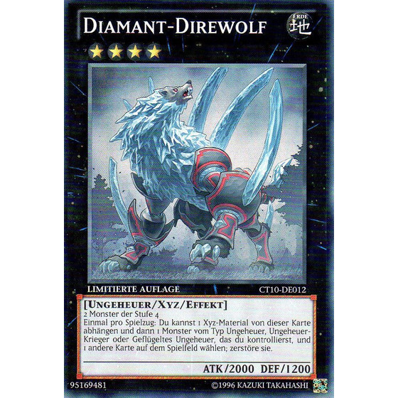 Diamant-Direwolf - CT10-DE012 - Super Rare