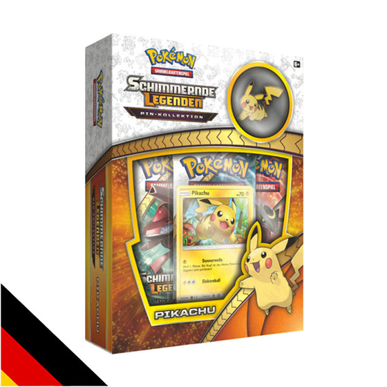 Schimmernde Legenden Pin Kollektion - Pikachu