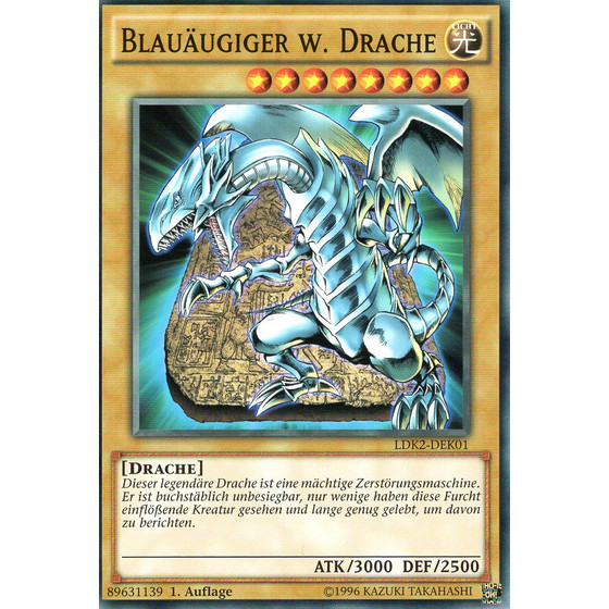 Blauäugiger w. Drache - LDK2-DEK01 - Common (Version PCK)