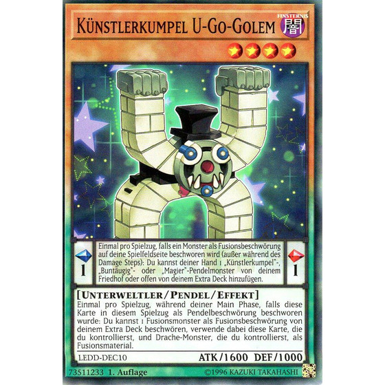 Künstlerkumpel U-Go-Golem - LEDD-DEC10 - Common