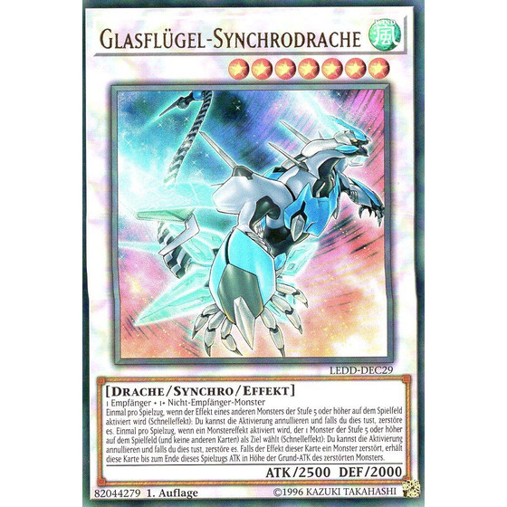 Glasflügel-Synchrodrache - LEDD-DEC29 - Ultra Rare