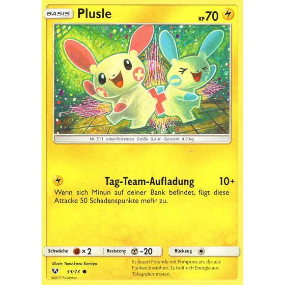 Plusle - 33/73 - Common
