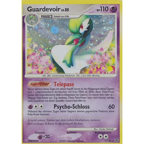 Guardevoir - 7/132 - Holo