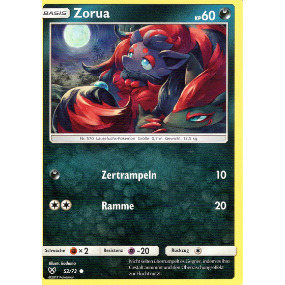 Zorua - 52/73 - Common