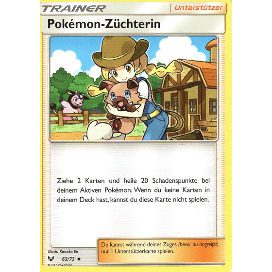 Pokemon-Züchterin - 63/73 - Uncommon