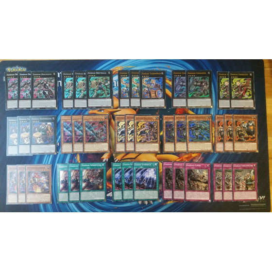 Zoodiak Deck Core - 43 cards incl. Extra Deck (Drident,...