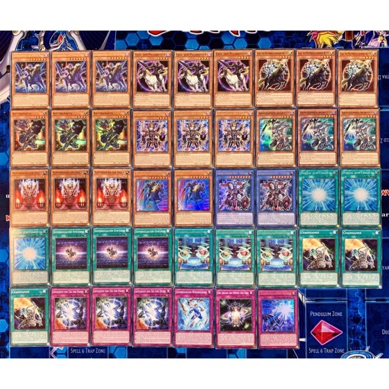 Supersoldier Deck Core - 47 cards incl. Extra Deck Black...