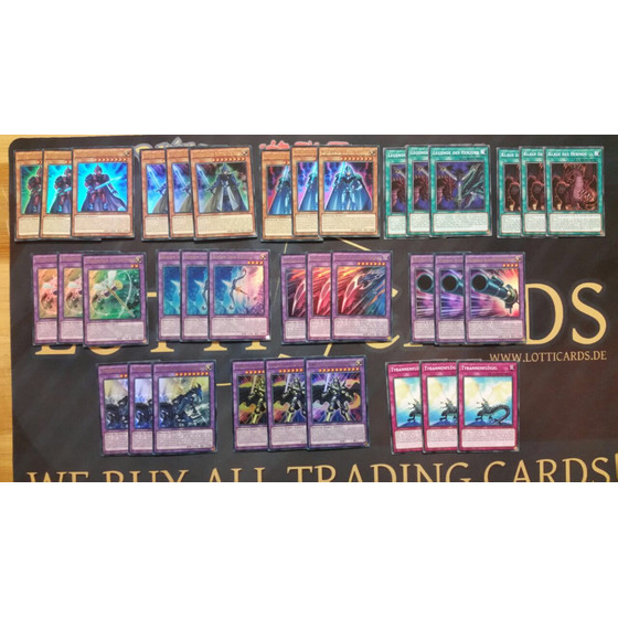Legendary Knight Deck Core - 36 cards incl. Extra Deck...