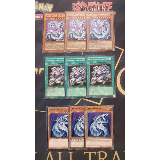 Cyber Dragon Set - 9 cards - POWERFUL!