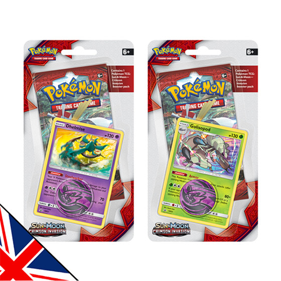 Sun & Moon: Crimson Invasion 1-Pack + Promo Blister...