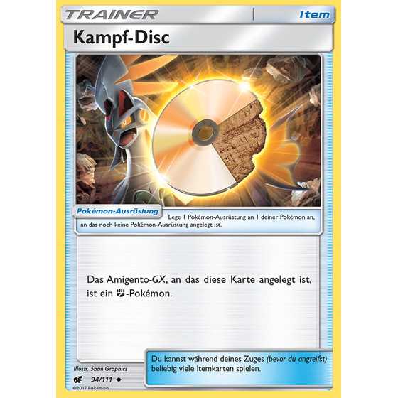 Kampf-Disc - 94/111 - Uncommon