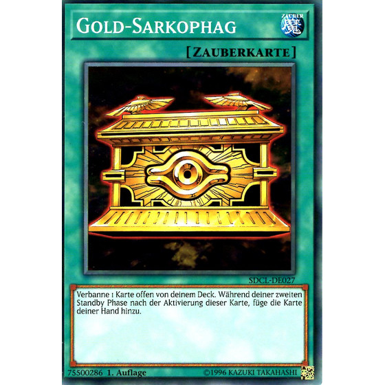 Gold-Sarkophag - SDCL-DE027 - Common