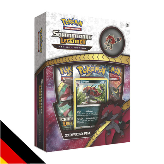 Schimmernde Legenden Pin Kollektion - Zoroark