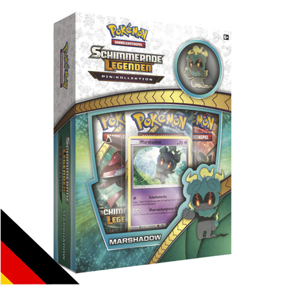 Schimmernde Legenden Pin Kollektion - Marshadow