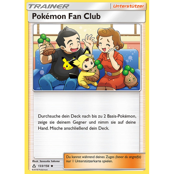 Pokemon Fan Club - 133/156 - Uncommon