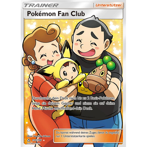 Pokemon Fan Club - 155/156 - Fullart