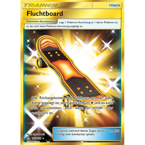 Fluchtboard - 167/156 - Shiny