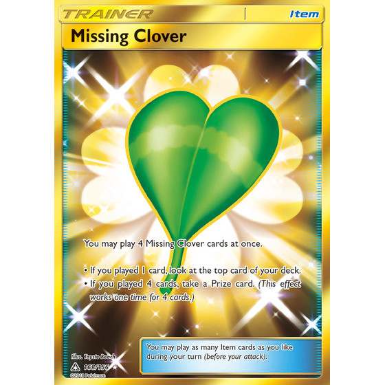 Missing Clover - 168/156 - Shiny