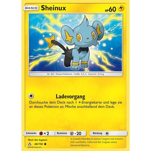 Deutsch Neu Pokemon Karte SM5 Ultra Prisma 46//156 Sheinux