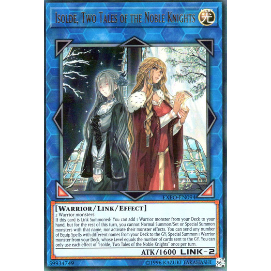 Isolde, Two Tales of the Noble Knights - EXFO-EN094 -...