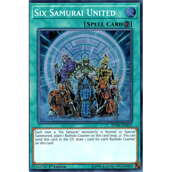 Six Samurai United - SPWA-EN013 - Super Rare