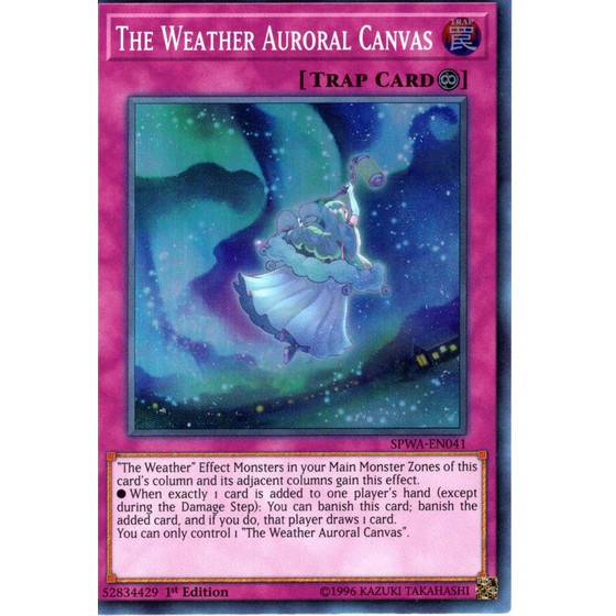 The Weather Auroral Canvas - SPWA-EN041 - Super Rare