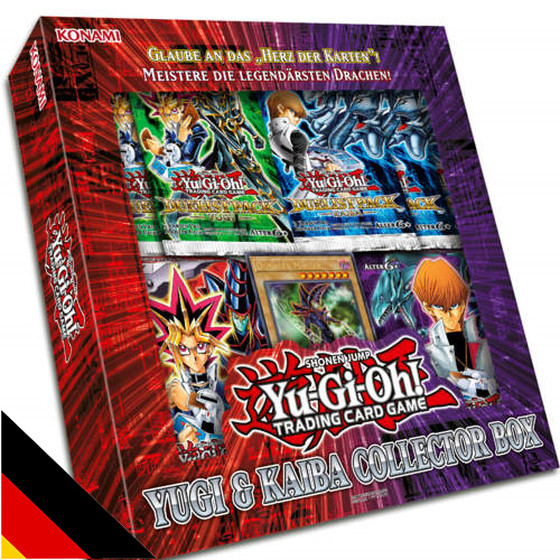 Yugis & Kaibas Collector Box (German)