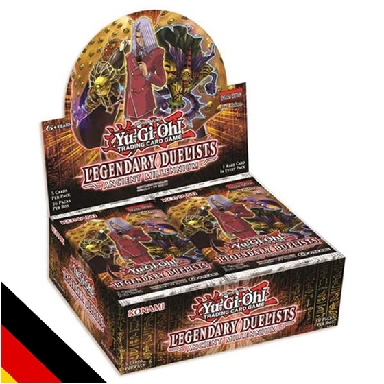 Legendary Duelists Ancient Millennium Display (36...
