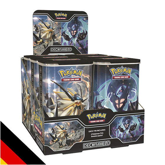 Top-Trainer Deck Tin Morgenschwingen Necrozma