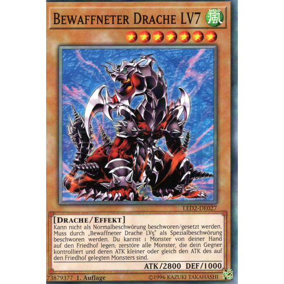 Bewaffneter Drache LV7 - LED2-DE027 - Common