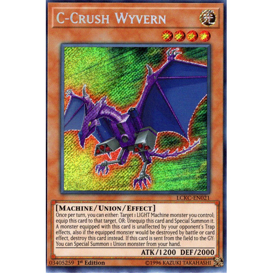 C-Crashwyvern - LCKC-EN021 - Secret Rare