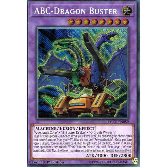 ABC-Drachenbuster - LCKC-EN059 - Secret Rare