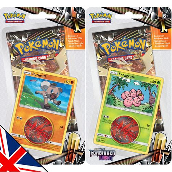 Sun & Moon: Forbidden Light 1-Pack + Promo Blister...