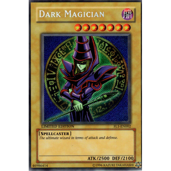 Dark Magician - FL1-EN002 - Secret Rare