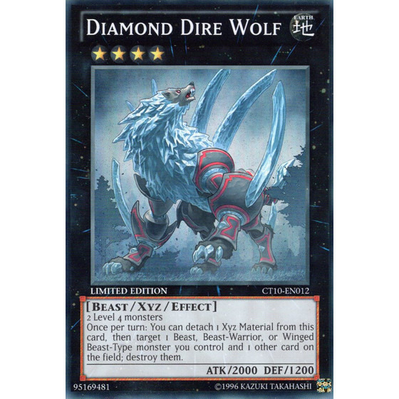 Diamant-Direwolf - CT10-EN012 - Super Rare