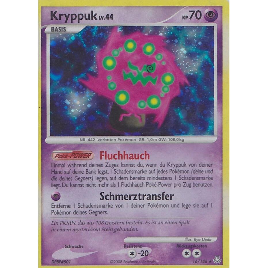 Pokemon Karte HOLO KRYPPUK 16//146