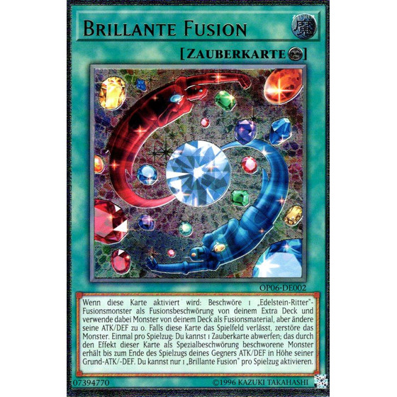 Brillante Fusion - OP06-DE002 - Ultimate Rare