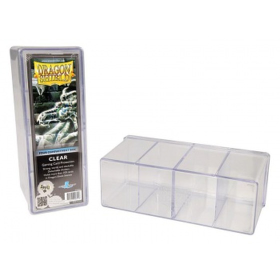 Dragon Shield - Storage Box / Deckbox with 4 Comparments...