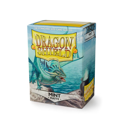 Dragon Shield Matte Mint - 100 Sleeves