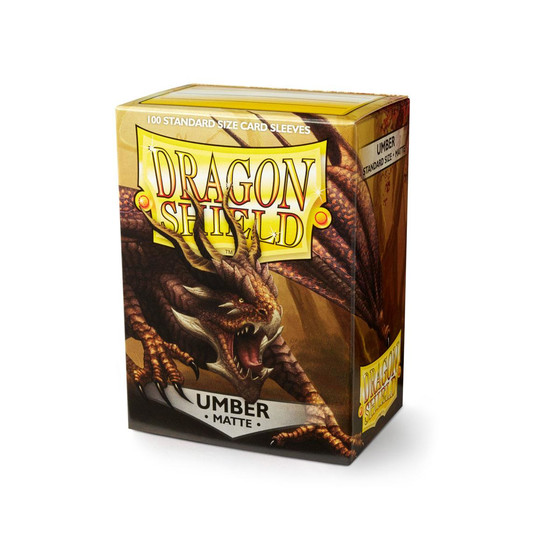 Dragon Shield Matte Umber - 100 Sleeves